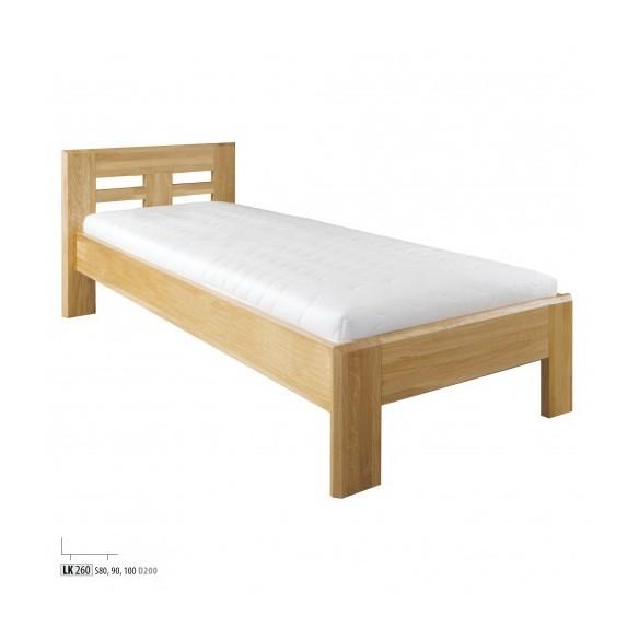 Łóżko Drewmax LK260