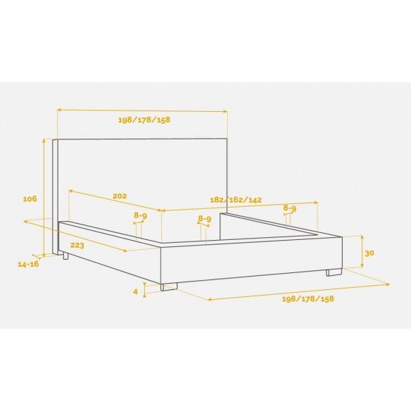 Łóżko Comforteo Basic