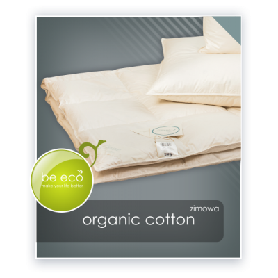 Kołdra puchowa AMZ Natural Organic Cotton
