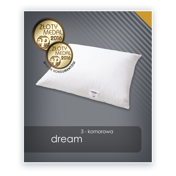 Poduszka AMZ Natural Dream 3-komorowa