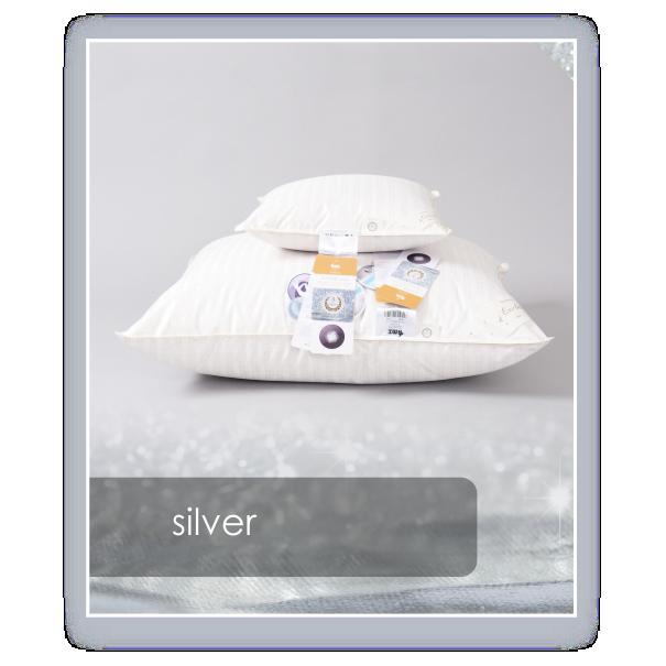 Poduszka AMZ Natural Silver 3-komorowa