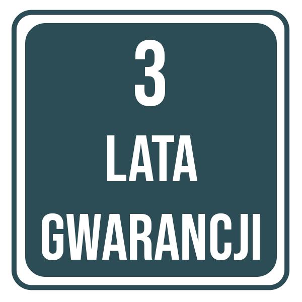 Gwaracja 3 lata