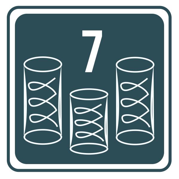 Sprężyny kieszeniowe 7-strefowe