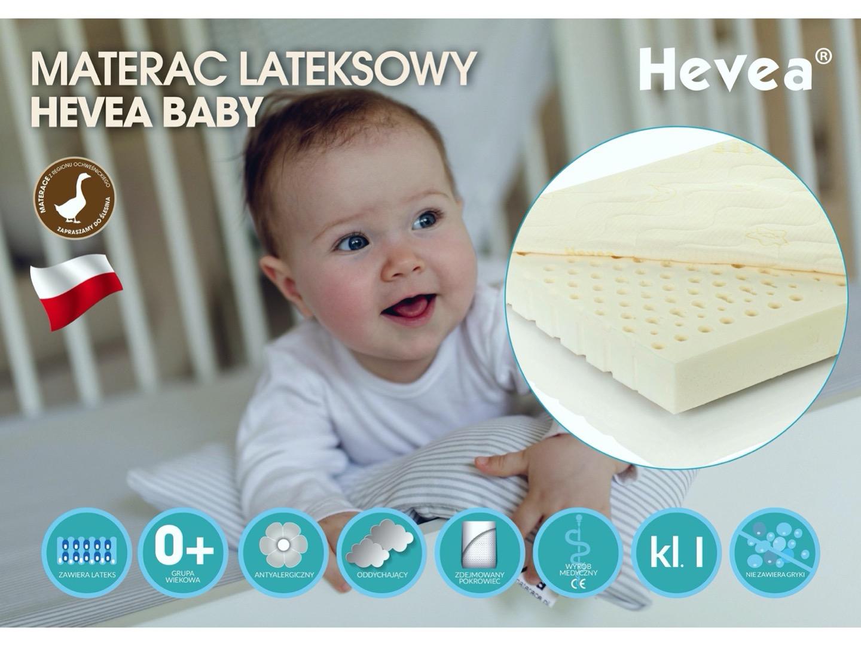 Materac Hevea Baby