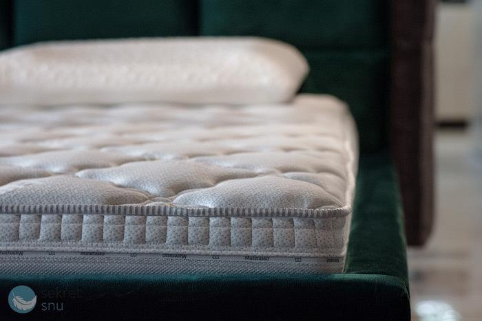 Zdjęcie materaca Materasso Viscogreen Lux - materac termoelastyczny, wysokoelastyczny, piankowy