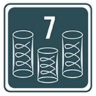 Sprężyny mutlipocket 7-strefowe
