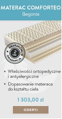 Materac Begonia